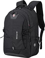 Ruigor SWISS ICON 47 Backpack (Black) with water repellent materials