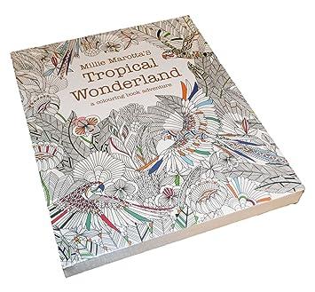 Amazoncojp Tropical Wonderland ぬりえ カード 塗り絵 英語 30枚 30