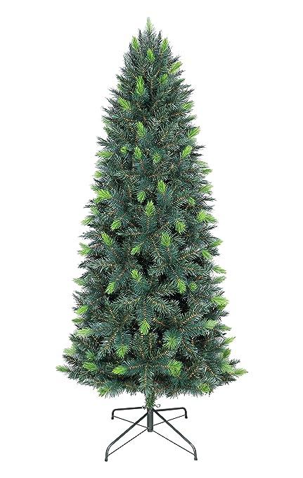 oncor 7ft eco friendly slim parana christmas tree - 7ft Slim Christmas Tree