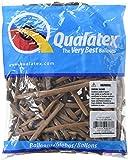 Qualatex Latex Balloons 99383 Mocha Brown, 260Q