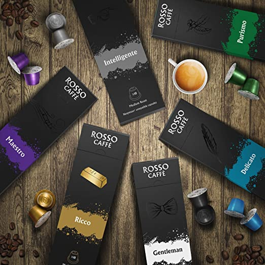 Rosso Caffe Variety Pack