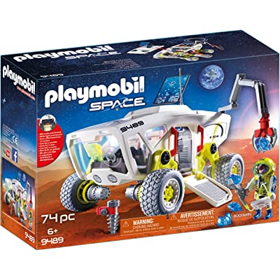 PLAYMOBIL Mars Research Vehicle: Toys & Games