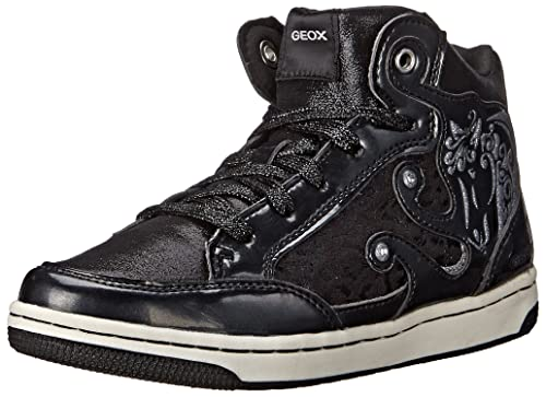 f5f74a7f0e Geox Girls' JR CREAMY A High-top trainers: Amazon.co.uk: Shoes & Bags