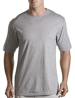 1XL White Harbor Bay by DXL Big and Tall Shapewear Tank T-Shirt