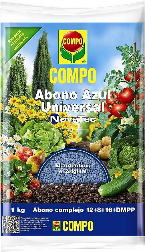 Compo Novatec Abono Azul Universal, 1 kg: Amazon.es: Jardín