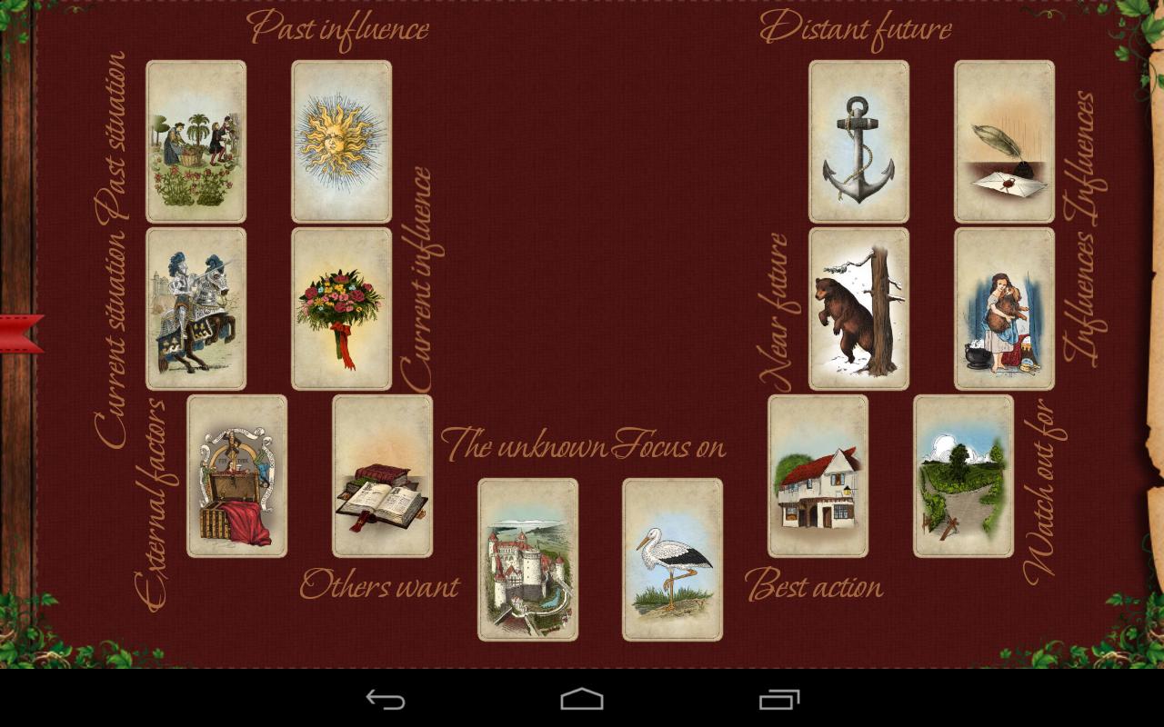 Tarot Madame Lenormand HD: Amazon.es: Appstore para Android