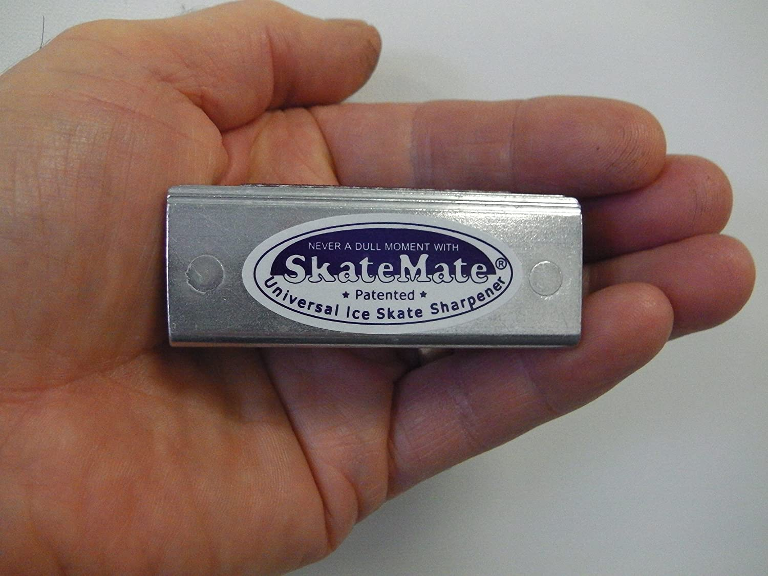SkateMate patented handheld Ice Skate Sharpener / Conditioner for ALL ice skates, Ice Hockey, Speed skates or Dance! by Skatemate : Sports & Outdoors