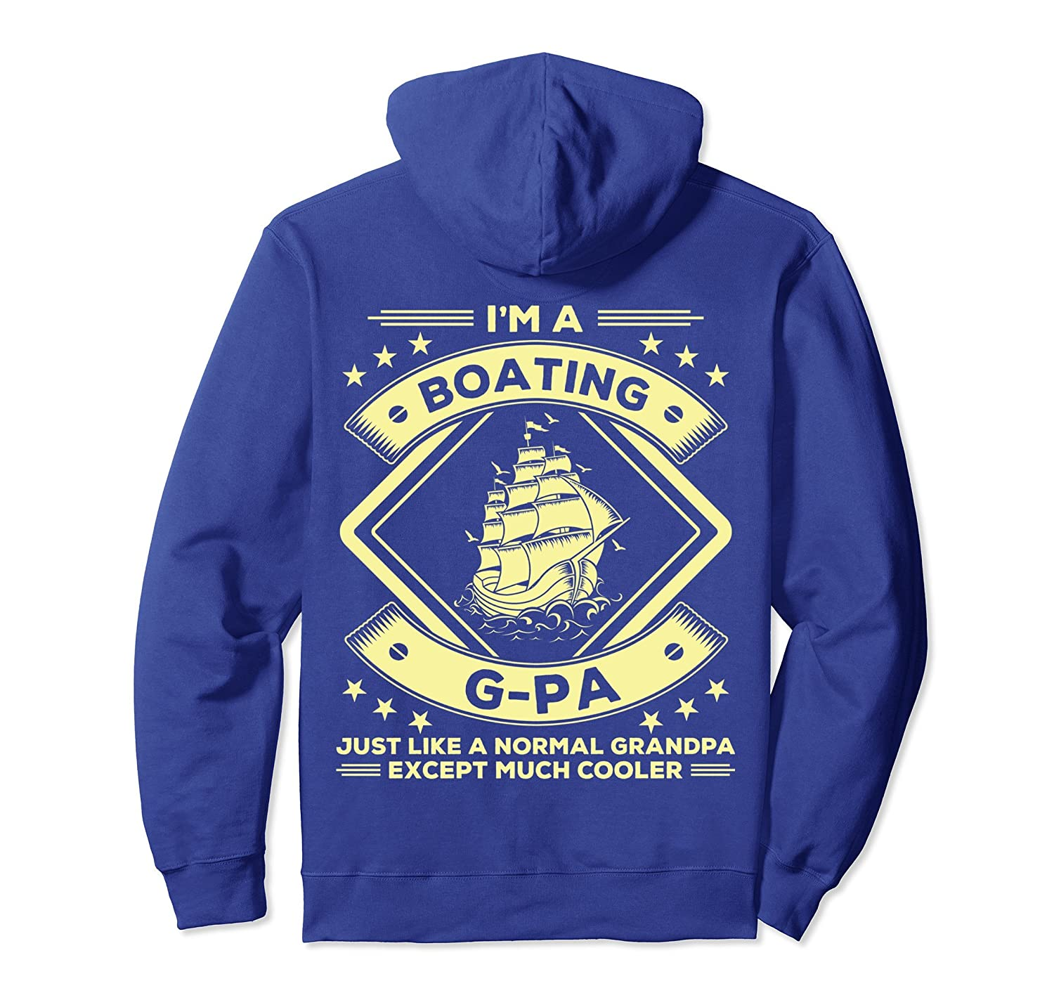 Boating G-pa Hoodie Funny Boating Lovers Tee Apparel-alottee gift