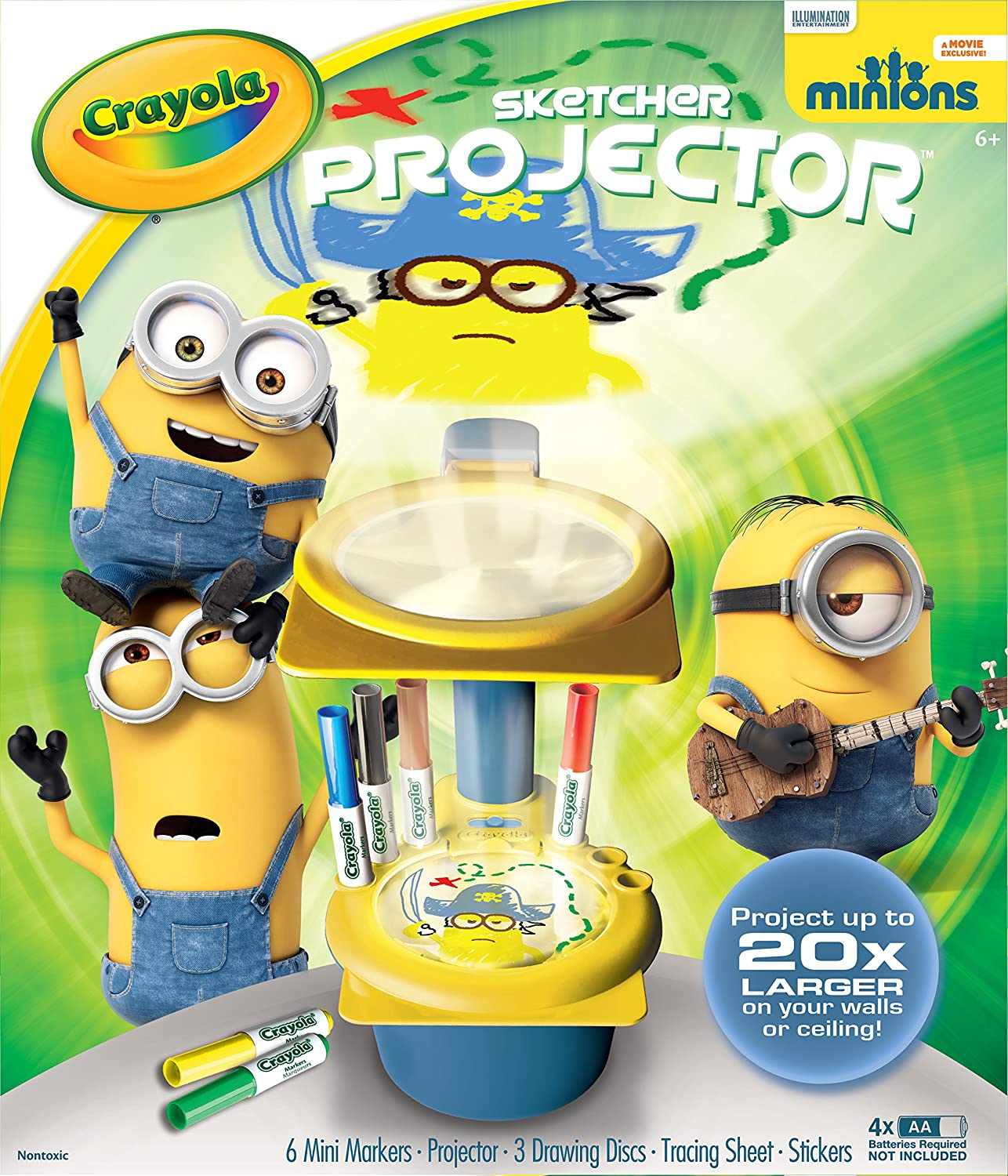 Crayola Minions Sketcher Projector by Crayola: Amazon.es: Juguetes ...