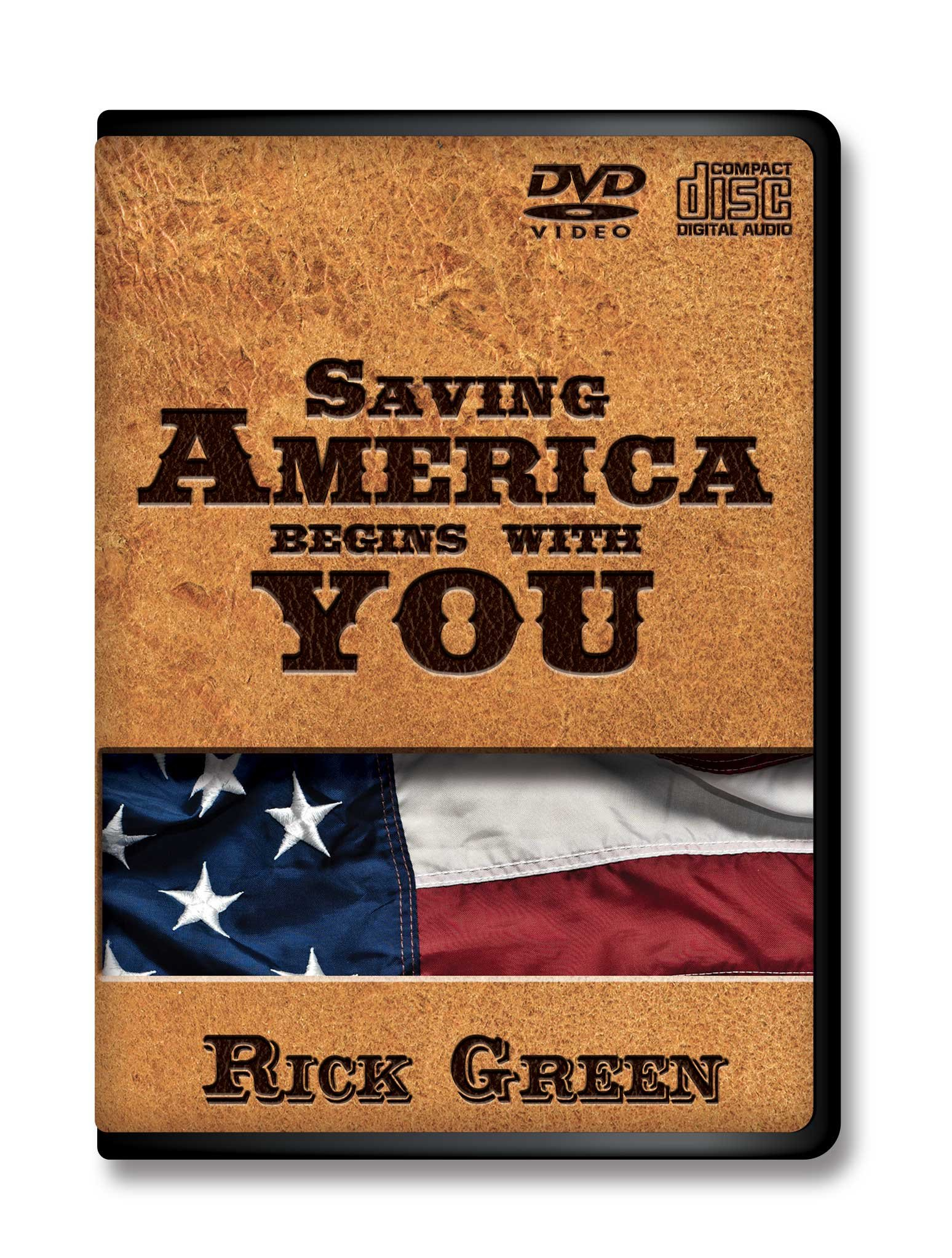 Download Saving America Begins With You / CD PLUS DVD / Rick Green PDF