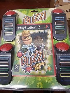 Buzz! The Big Quiz with 4 Buzzers (PS2): Amazon.es: Videojuegos