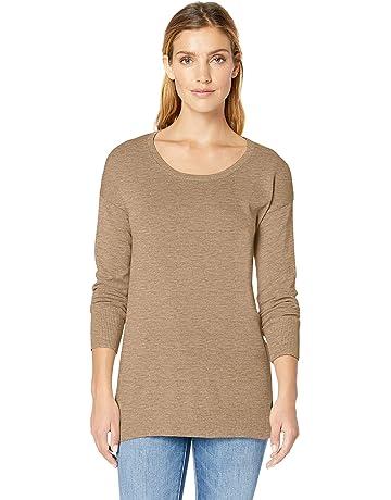 5ee9b6eb7ed Amazon Essentials Women's Lightweight Scoopneck Tunic Sweater. #3