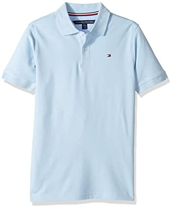 69c0d9965961 Amazon.com: Tommy Hilfiger Boys' Stretch Ivy Polo: Clothing