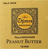 Chimes Peanut Butter Ginger Chews, 5-pound Box, 5-Pound Box