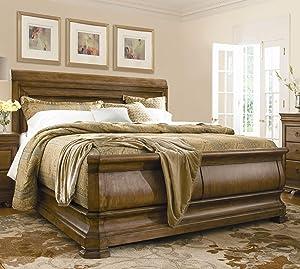 Universal Furniture New Lou King Sleigh Headboard in Cognac