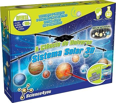 Science4you - La Ciencia Del Universo: Sistema Solar 3D - Edición ...