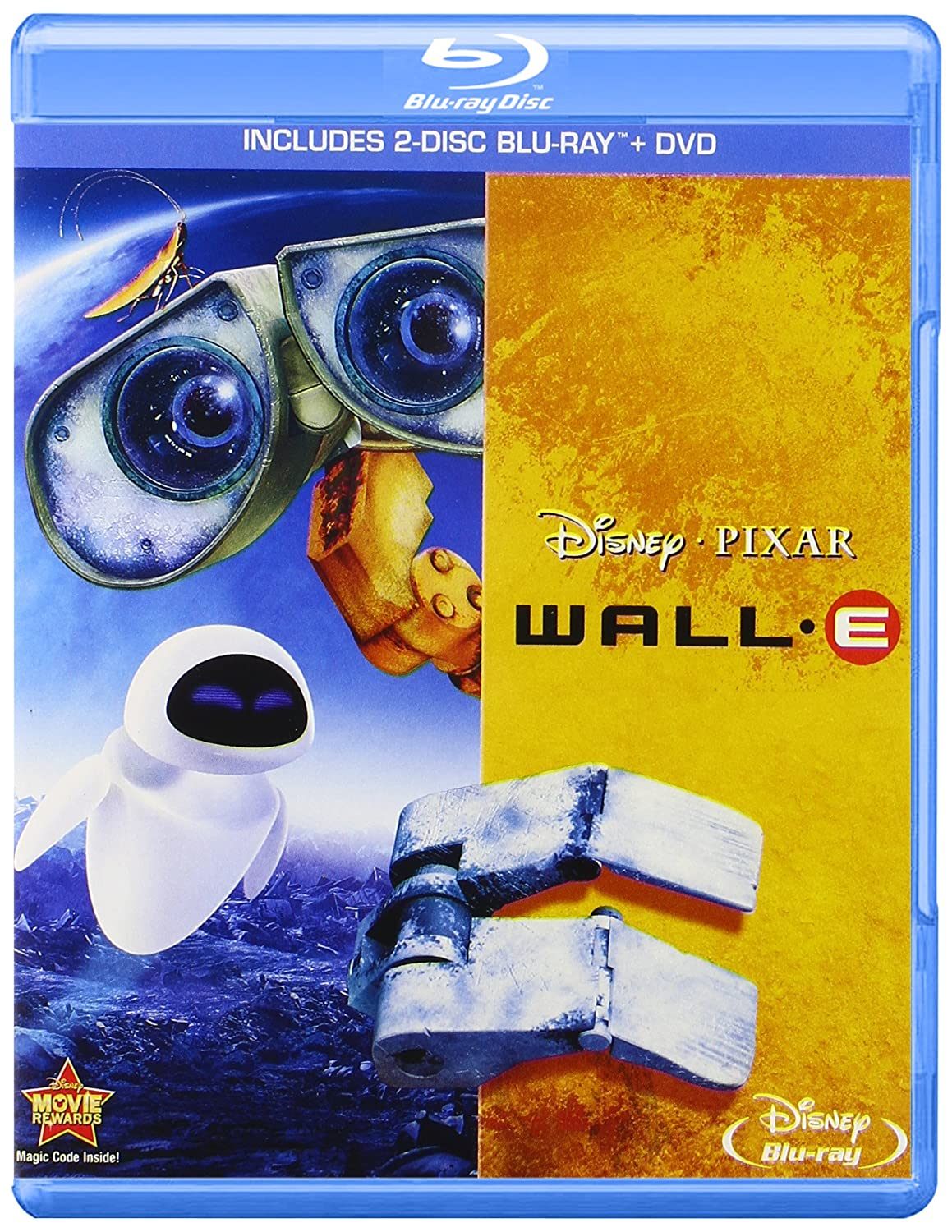 Amazon.com: Wall-E (Three-Disc Blu-ray / DVD Combo): Ben Burtt ...