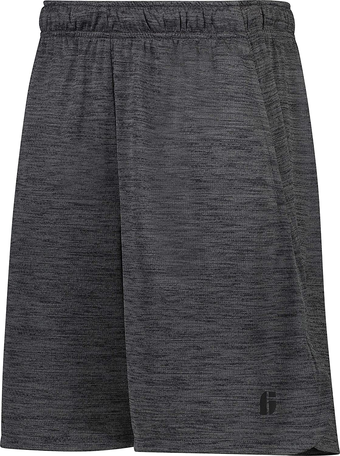 DRY FIT Gym Shorts for Men - Mens Workout Running Shorts - Moisture Wicking with Pockets and Side Hem Ink Slate Inc.