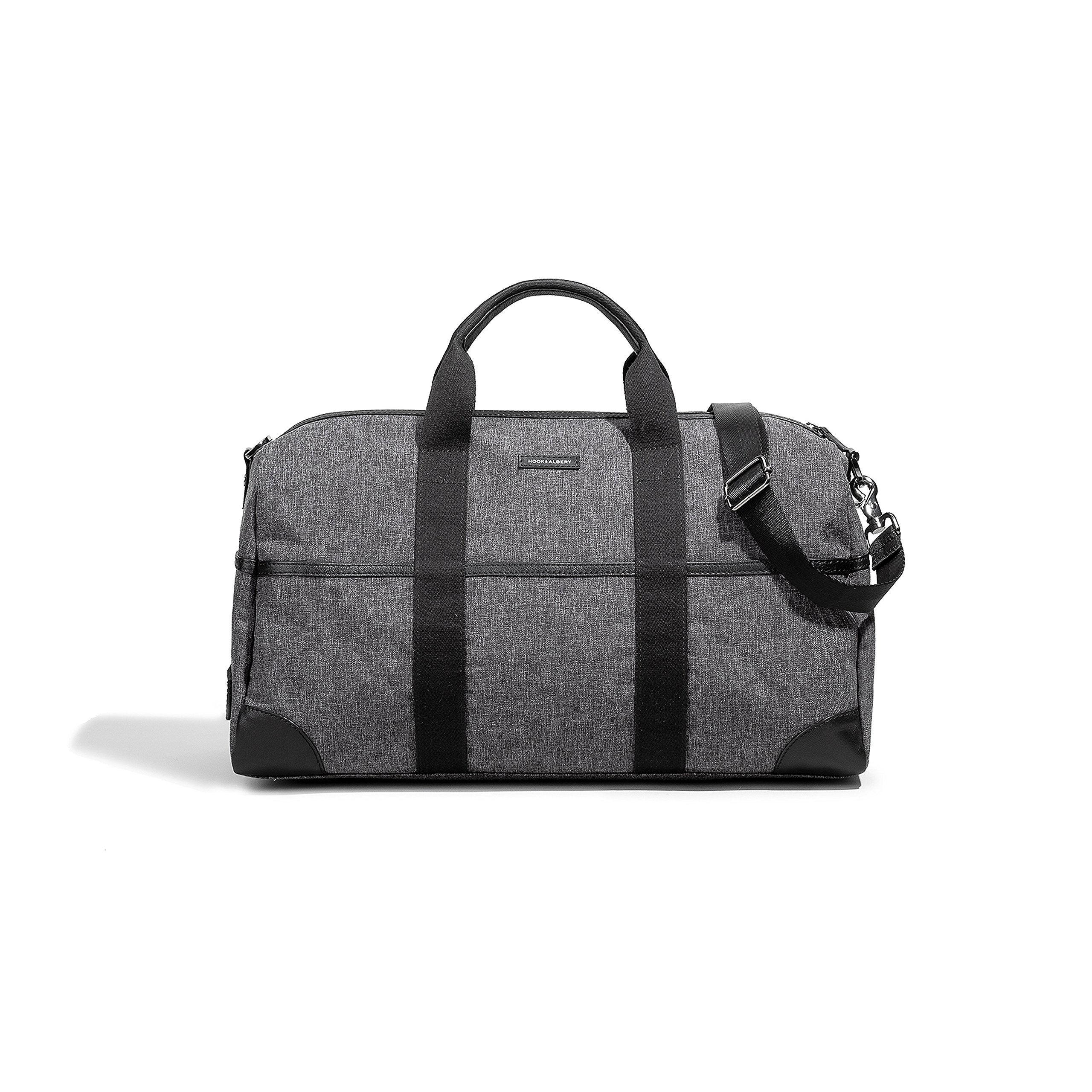 The Training Duffel Melange Fabric Bag by Hook & Albert