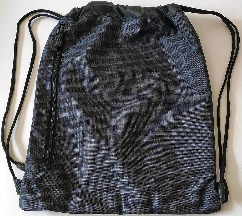 Panini 62819 Sac /à dos avec cordon de serrage Noir camouflage