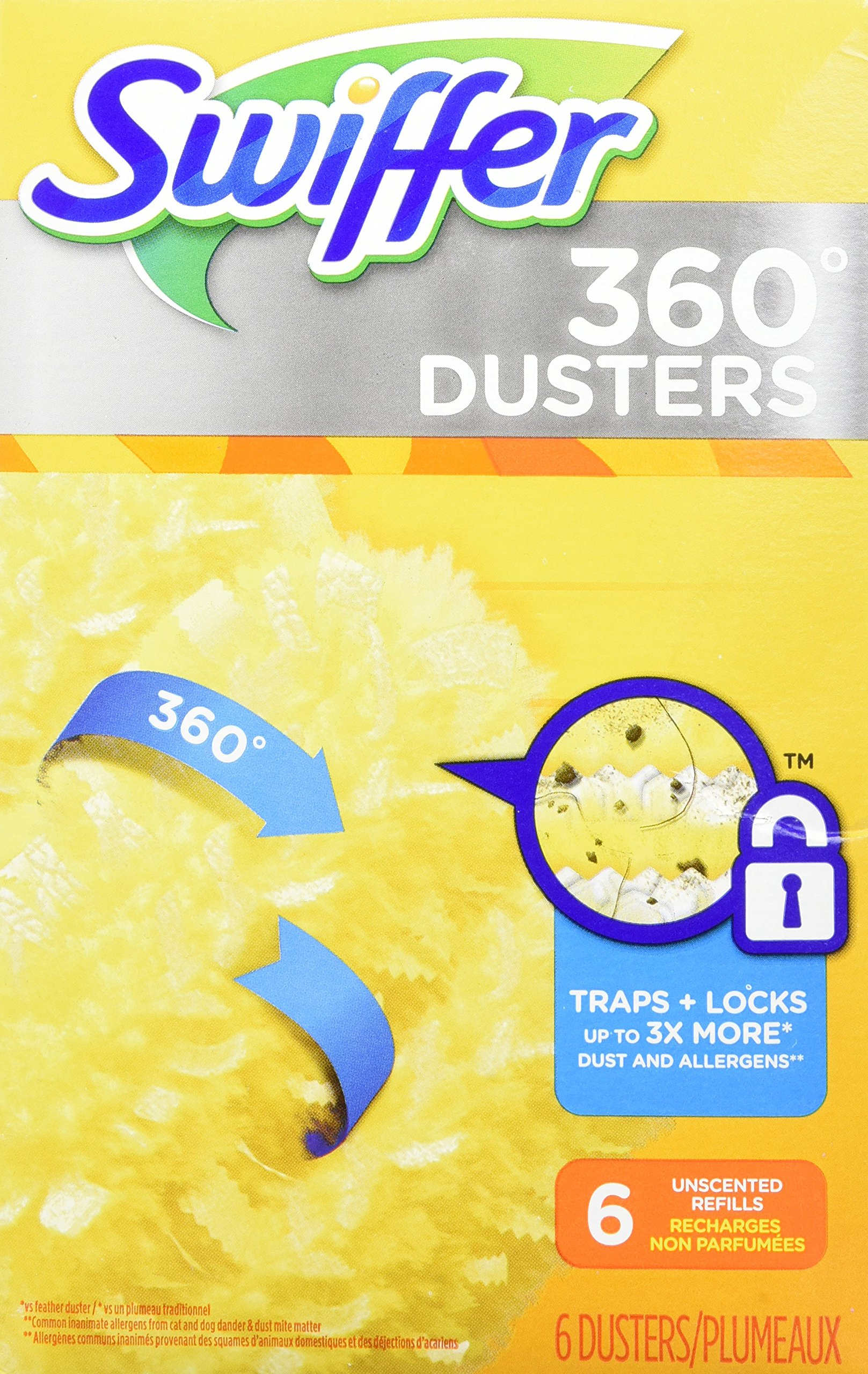Amazon Com Swiffer 360 Dusters Extender Kit 3 Unscented