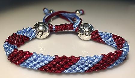 Mary's Terrace Handmade Football Bracelet