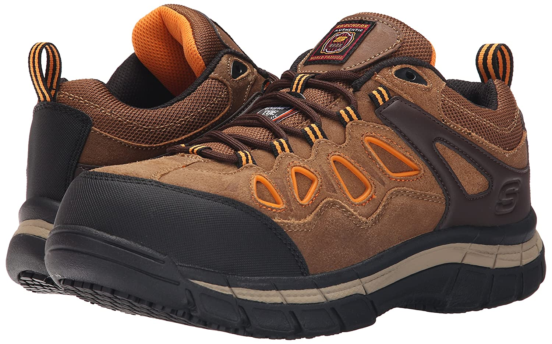 Skechers Mens Zapatos De Trabajo Toe Compuesto eZZad3qL1