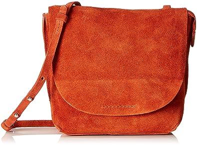 05c9b8a768b Clarks Tallow Rosa, Women's Shoulder Bag, Orange (Burnt Orange), 8x23x20 cm