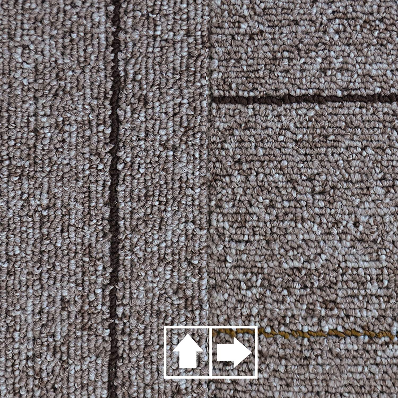 casa pura Dalles Moquette Merci Lot de 1m/² 50x50cm Feutre aiguillet/é amortissant 3m/² 5 Coloris 4 pi/èces 1m/² 5m/² Rouge Autocollant et r/ésistant