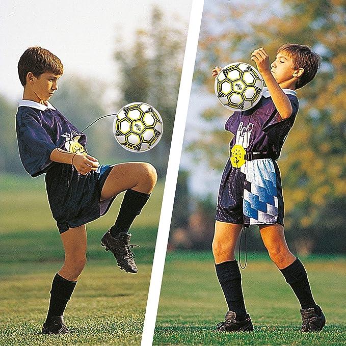 Mondo - Kick Off Trainer, Pelota con Cuerda elástica y cinturón ...