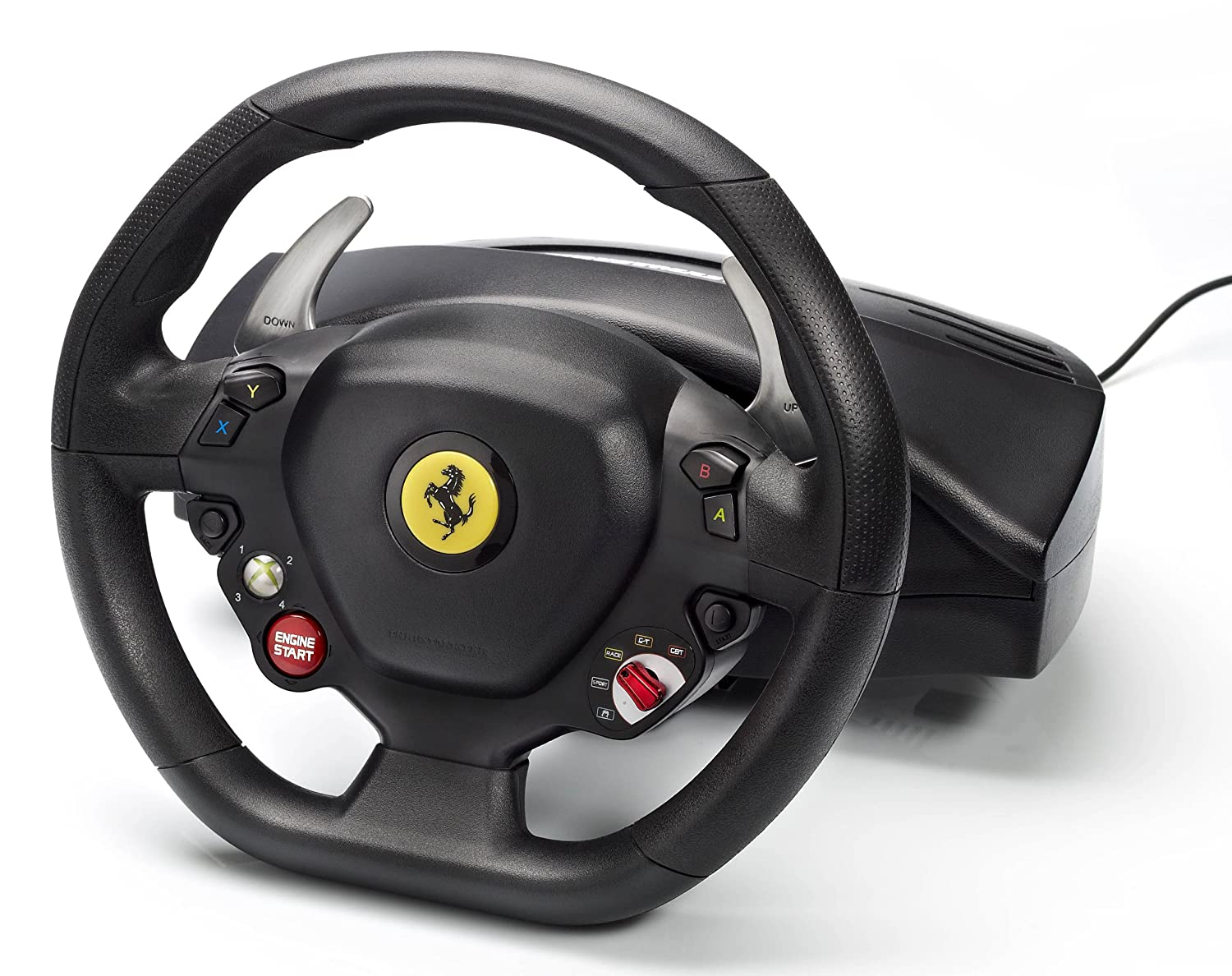 thustmaster xbox pedal port ifixit ferrari thrustmaster spider device wheel connection and racing