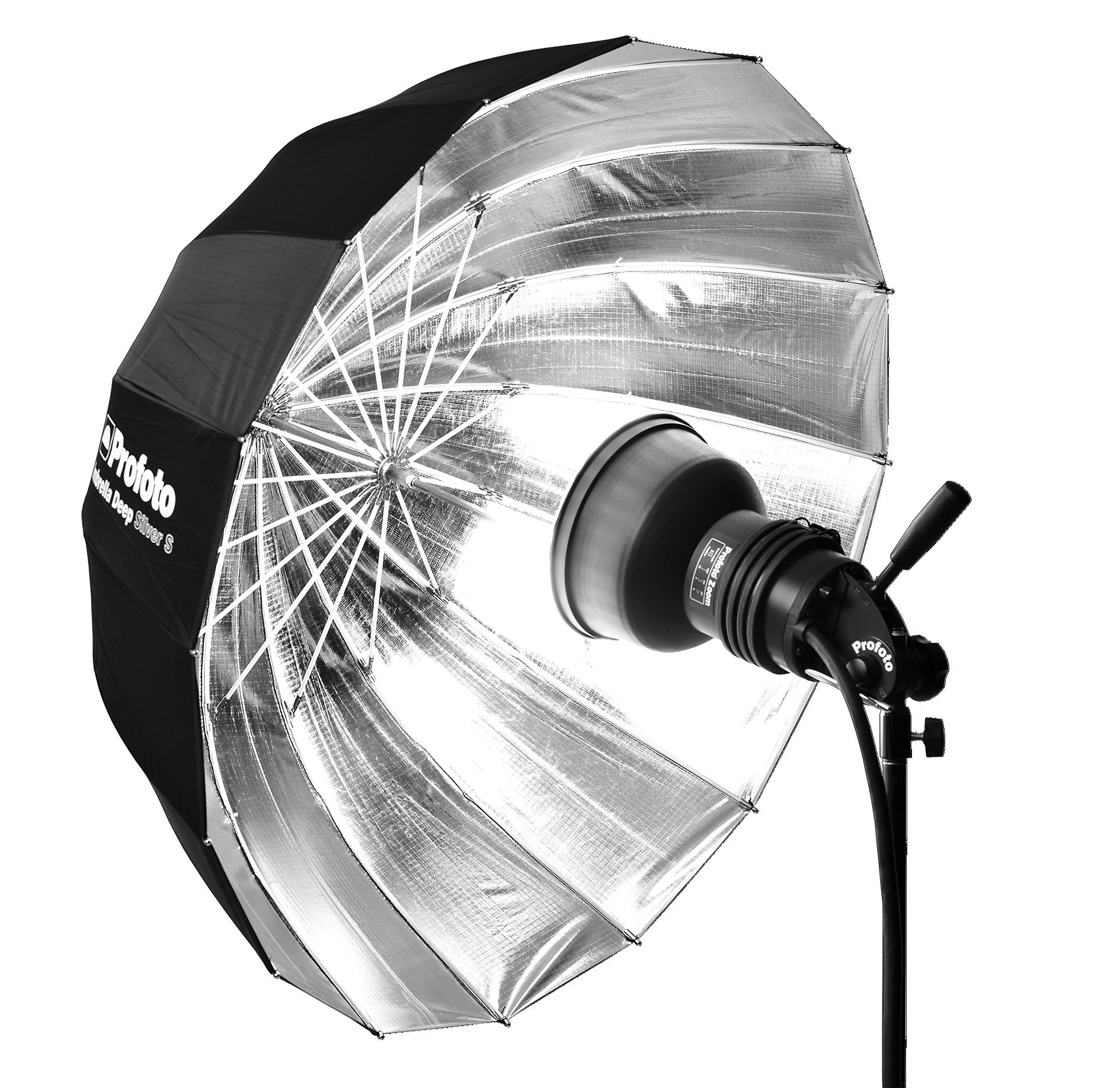 Profoto Deep Small Umbrella (33'', Silver)