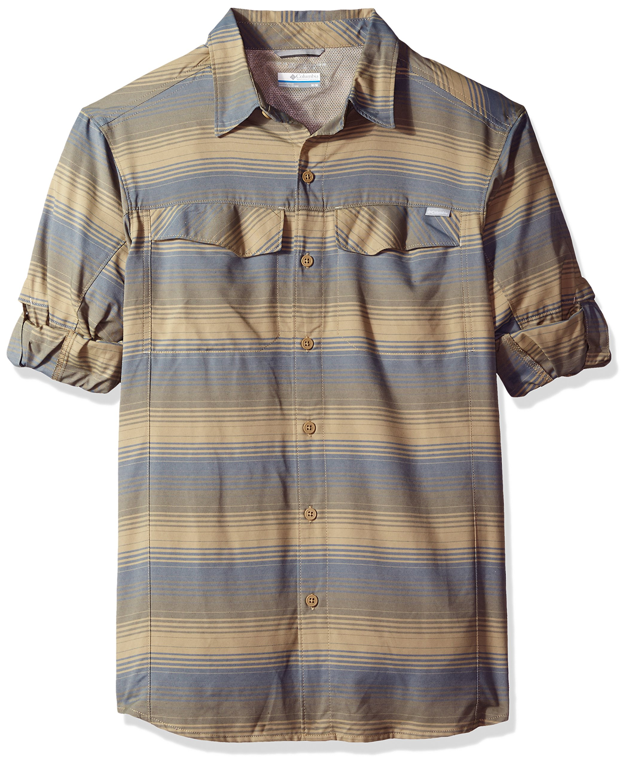 31f43b1d38b Galleon - Columbia Men's Silver Ridge Plaid Long Sleeve Shirt, Large, Major  Stripe