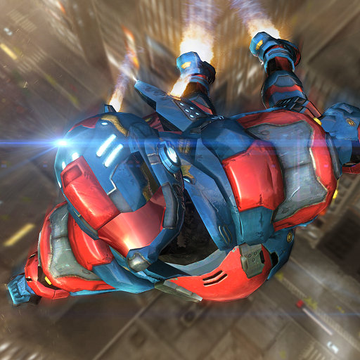 War Machine Flying Super Hero Robot Champ Survival In Battle Mode Fighting Quest Adventure: Criminal Attack City Rescue Warrior Revolution In battle Simulator Game -