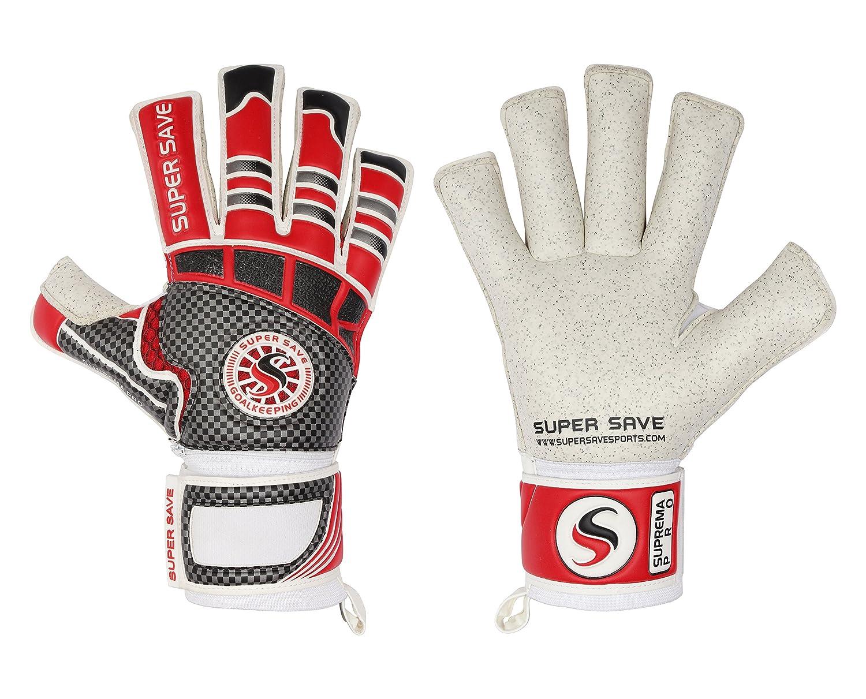 Supersave Suprema Pro Rolle Finger Professionelle Fußball Torwart Handschuhe
