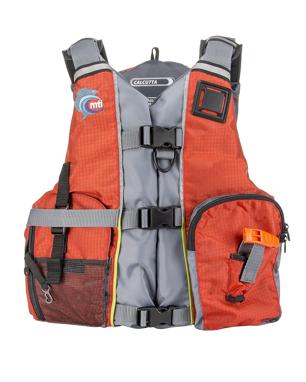 MTI Adventurewear Calcuttaユニバーサル、オレンジ/グレー