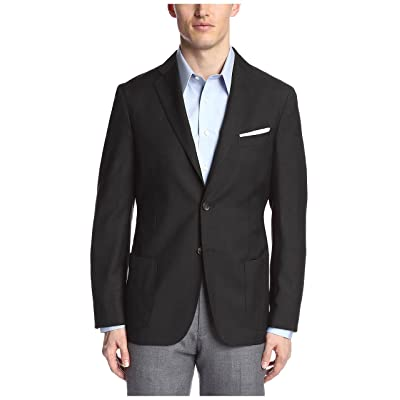 Bensol Men's 2 Button Sportcoat, Grey, 40R at Men's Clothing store