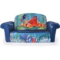 Marshmallow Furniture Childrenu0027s 2 In 1 Flip Open Foam Sofa, Disney Pixar  Finding Dory,