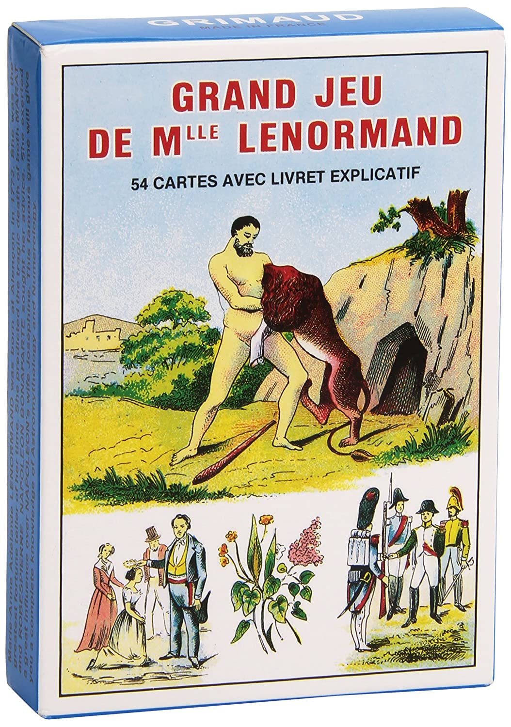 Grand Jeu de Mlle Lenormand by Grimaud