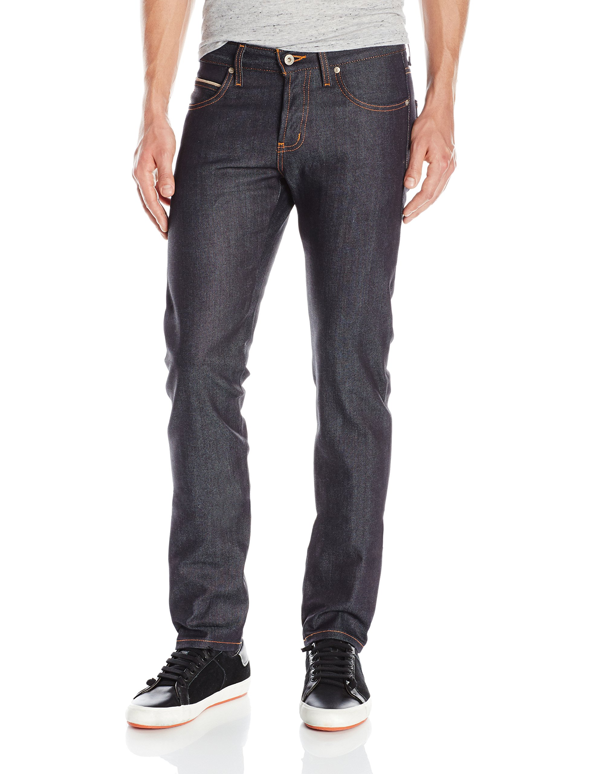 Naked & Famous Denim Men's Superskinnyguy Stretch Selvedge Jean, Indigo, 32 by Naked & Famous Denim (Image #1)