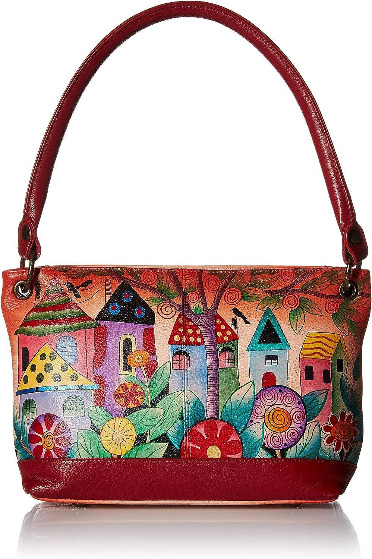 Anna by Anuschka Shoulder Tote Bag | Genuine Leather
