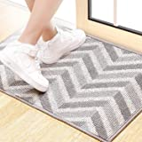 BCLBUSTE Entryway Rug,Odorless and Non-Slip Indoor Door Mat,Low-Profile Dirt-Absorbing Rugs for Entryway,Easy to Clean and Ma