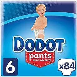 Dodot Pants - Pañal-Braguita Talla 6, (15+ kg), 3 x 28 Pañales - Total 84 Pañales: Amazon.es: Salud y cuidado personal