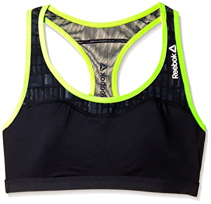 7e661921f4 Amazon.com: Reebok Womens OSR PlayIce Racerback Sports Bra: Clothing