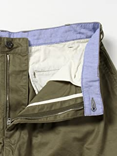 Twill Pleated Shorts 11-25-1542-874: Olive