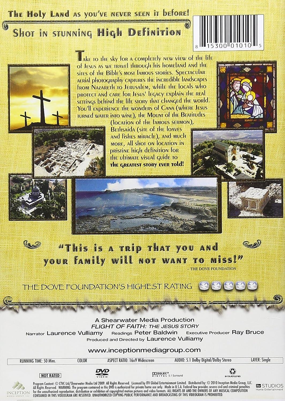 Amazon com: Flight of Faith: The Jesus Story: Laurence