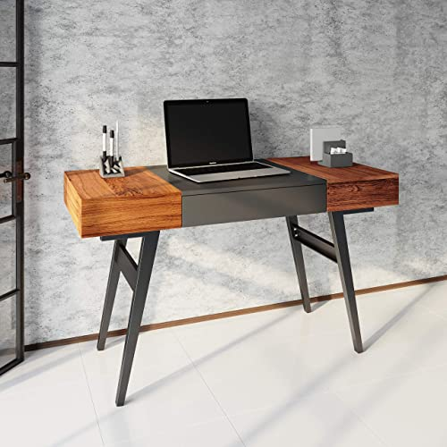Techni Mobili Expandable Modern Storage Writing Desk