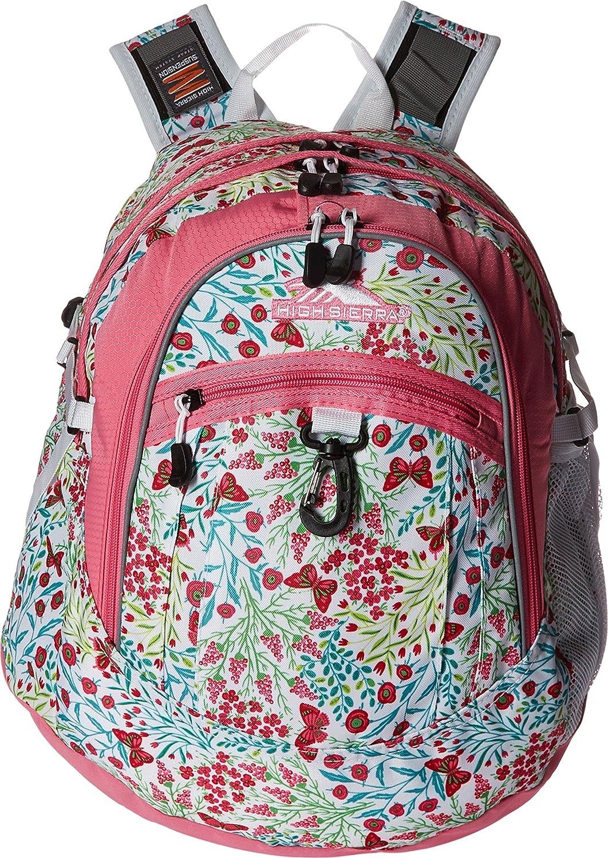 Summer Flight Pink Lemonade White High Sierra Fat Boy Backpack