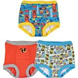 Disney Boys BTP7387 Cars Toy Story Nemo 3 Pack Training Pant Underwear - Multi