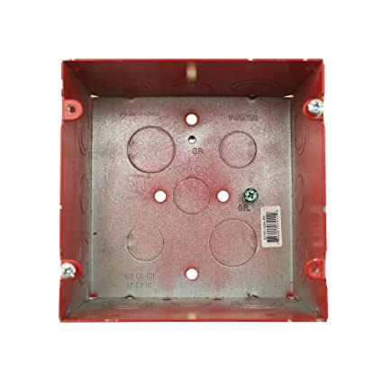 Thomas & Betts 5-Square Fire Alarm Device Box, 2 Gang